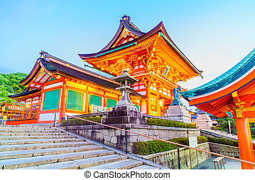 Tori gate - Beautiful Architecture around fushimi inari...