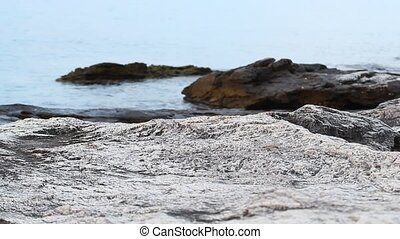 Aegean sea and seashore