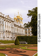 Russia. The ancient palace in park