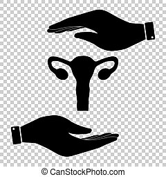 Protect symbol on the transparent background - Human Body...