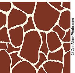 Giraffe vector seamless pattern texture