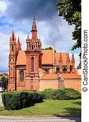 Saint Anne, Vilnius - Church of St Anne in Vilnius