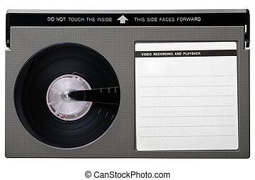 Beta tape - Retro Video Casette. Beta Tape, the competitor...