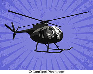 Vector helicopter