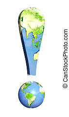 Problems of ecology - Conceptual image - problems of ecology