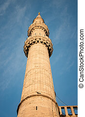 Minaret  - minaret on the sky background