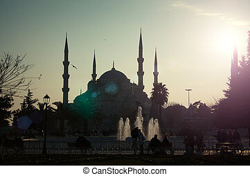 Sultan Ahmed Mosque in Istanbul