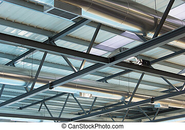 ceiling, roof, plafond, structure, construction,...