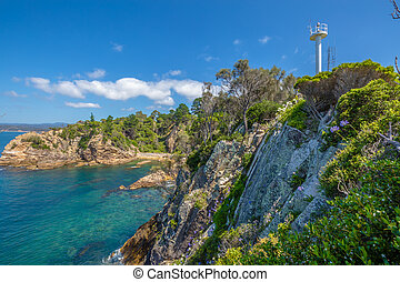 The Eden cliffs - Rotary Park lookout: the cliffs of the...