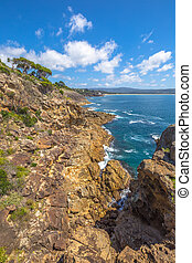 Eden Cliffs Australia - Cliffs of Eden in the sapphire...