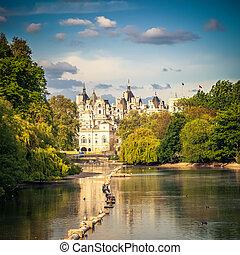 St james park, London - St james park in London, UK