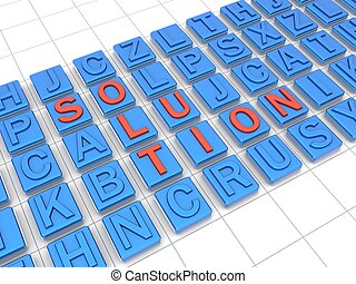 Define a solution with thinking out of the box concept