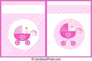 vector baby girl