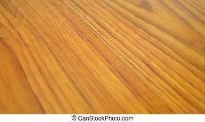 Wood Texture Background - Dolly on Wood Texture Background