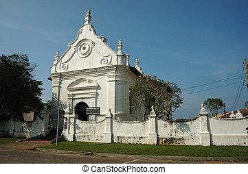 Dutch reformed church in Galle,Ceylon