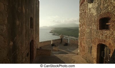 3 View Of Atlantic Ocean From Morro Castle In Santiago Cuba...
