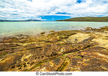 Lime Bay Tasmania - Lime Bay beach of camping within the...