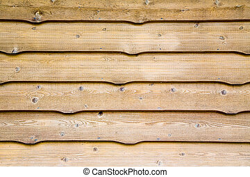 Cottage wood siding background - traditional aged cedar...