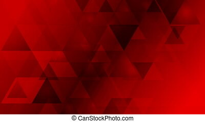Dark red geometric tech video animation - Dark red geometric...