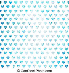 valentines day background with hearts - Abstract background...