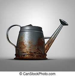 Water Problem - Water problem as a watering can that is...