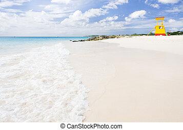cabin on the beach, Enterprise Beach, Barbados; Caribbean