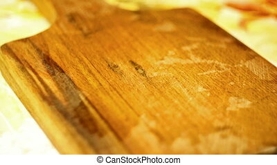 piece of beef on a cutting board