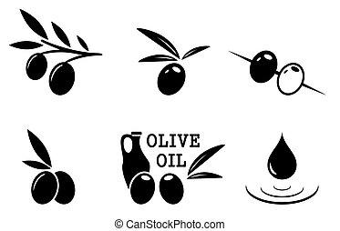 black olive set