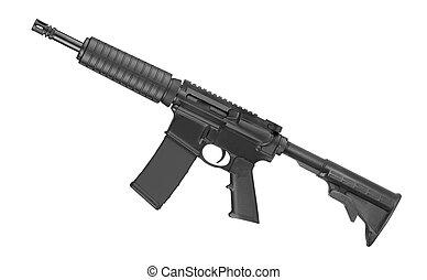forças, isolado,  m4, fundo,  rifle, branca, especiais
