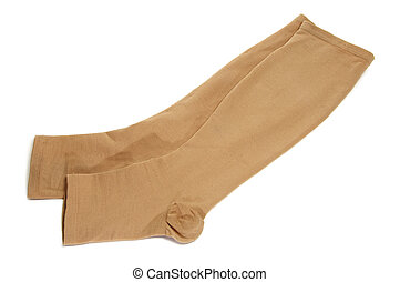 compression stockings - a pair of compression stockings...