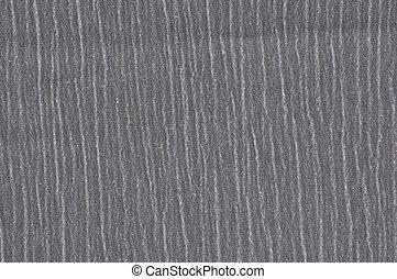 Grey wrinkled fabric background