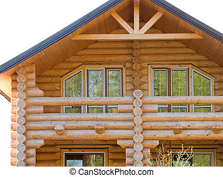Log house structure