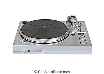 Turntable vinyl record player cutout - Turntable vinyl...