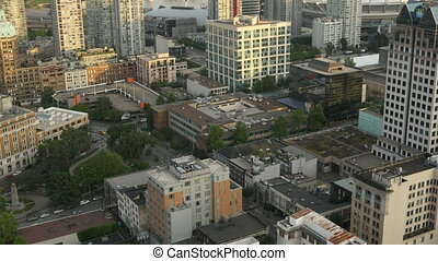 Aerial View Vancouver, Canada - Aerial view from Vancouver,...
