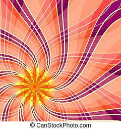 Abstract pink and violet background