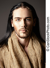 jewish - Religion and Christianity. Portrait of Jesus Christ...