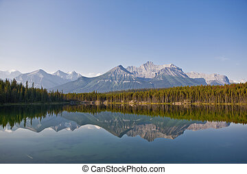Herbert Lake - Banff National Park - Alberta - Canada