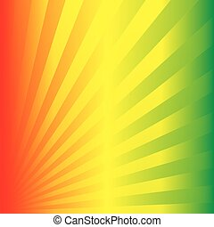 Reggae Party - a colorful illustration of a crazy Reggae...