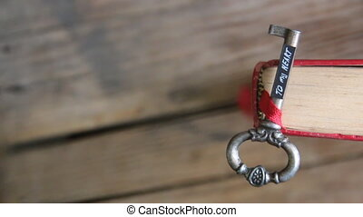 key to my heart idea - Key to my heart inscription and red...
