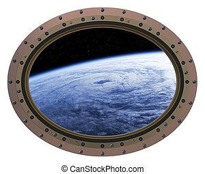 Space Station Porthole - The Space Station Porthole...