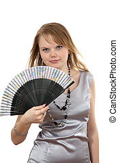 making look younger girl and fan