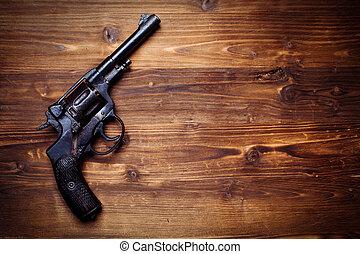 vindima, pistolas