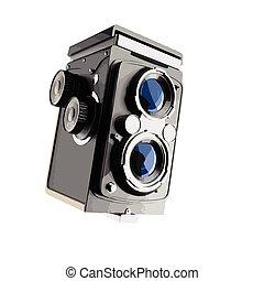 vector Vintage cinema camera