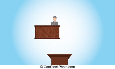 justice and law design, Video Animation HD1080