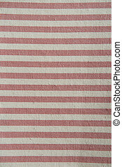 natural fibre background - red and beige striped natural...