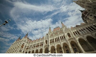 Building of the Hungarian Parliament Budapest.