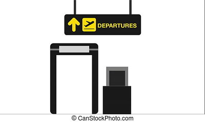 airport concept design, Video Animation HD1080