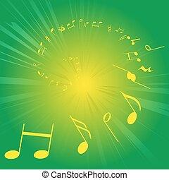 音樂, 注釋, 譜號,