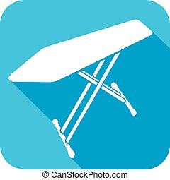 ironing board flat icon