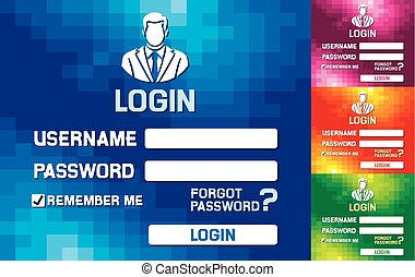 login website form website login form templates